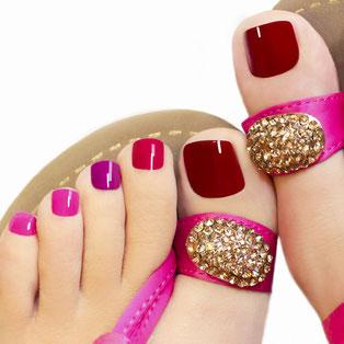 Pose ongles  pieds 3051; 307875, Euro 3,53 (2000 FCFA) Réduction 1000 FCFA