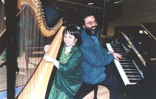 Shimon & Nehama REUBEN. DUO REUBEN piano & harpe december 1993