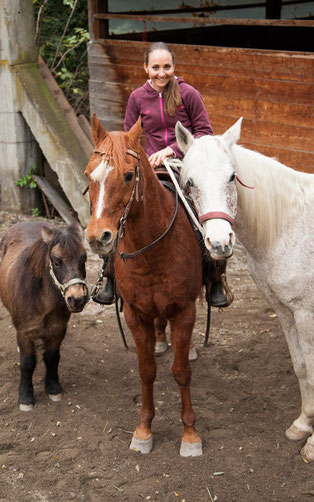 Eva Lechner privat: Ihre Pferde geben ihr Kraft ©Armin Huber
