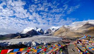 Trekking in Ost-Tibet, um den heiligen Berg Amnye Machen