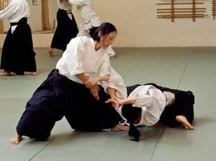 Yoko Okamoto Shihan 6. Dan Aikikai