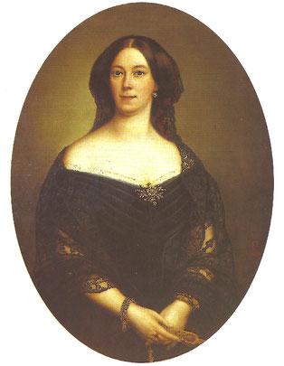 Elisabeth Muller, troisième épouse de Jean-Baptiste Meeûs.