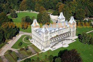 Le second château d'Argenteuil, reconstruit par l'architecte Cluysenaer,