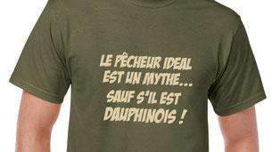 t-shirt personnalisé pecheur