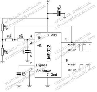 LM9022自震荡应用电路