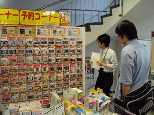 お店の隅々にまで売り手の工夫がありました。
