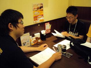 店長の吉田さんに店舗に関する説明をしていただき、いろいろな質問に答えていただきました。