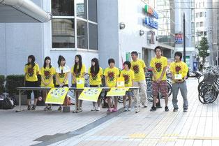 たくさんの生徒が参加。