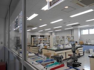 ここが新しい製品を生み出す研究室です。