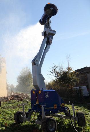 Nebelkanone Staubbindemaschine
