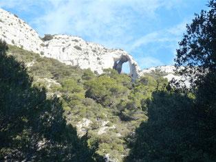 Le pic de l'Aigle (petit Luberon sud) : 4 décembre 2016