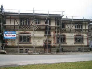 Restaurierung, Sanierung, Fassade, Denkmalgeschützt, Wiesbaden, Eisenberg