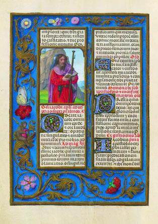 f. 412v. Saint Jacques.