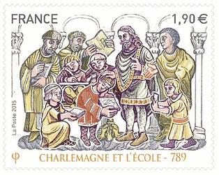 CHARLEMAGNE ET L'ÉCOLE – 789