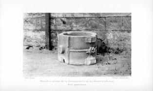 Mesure à grains La Neuville-au-Temple - Temple de Paris