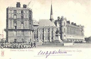 Carte postale datée de 1904
