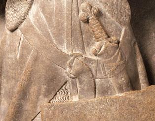 Épée du gisant de Jean II d'Alluye. © The Metropolitan Museum of Art