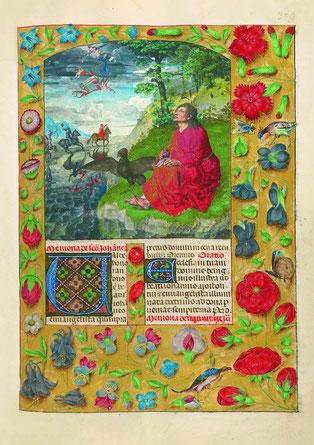 f. 309r. Saint Jean l'Évangéliste.
