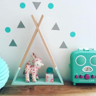 décoration design chambre bébé et enfant- les bambétises