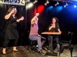 Improtheater Klub Aufsturz Komplimente Liebe