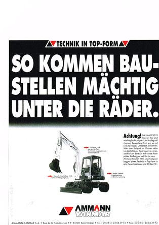 Anzeigenmotiv Radbagger