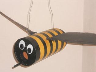 Tehula; die tetenhusener Landfrauen-Biene für die Landesgartenschau in Eutin