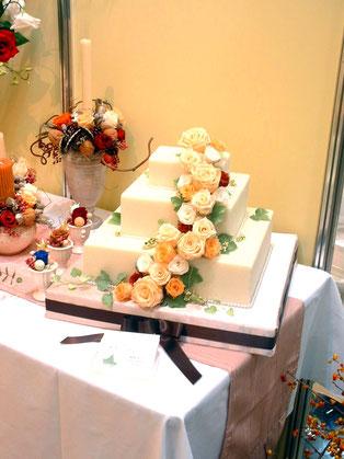 イベントでのケーキアレンジ