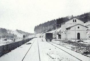 Bild: Wünschendorf Erzgebirge Teichler alte Flöhabrücke