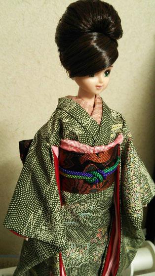 ドール着物、Japanese kimono doll