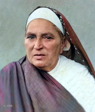 Daulat's mother - Shireen ( Mehera's grandmother )