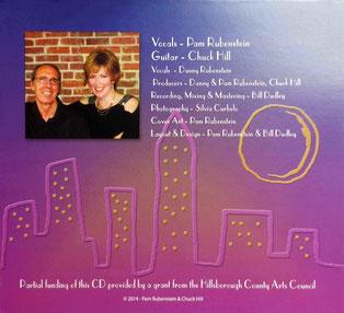 CD : Inside cover