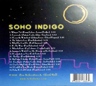 CD : Back cover