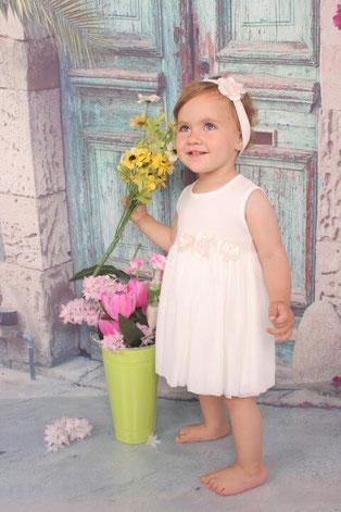 Детска рокличка за кръщене