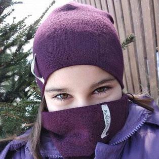 Шапка и шал за зимата