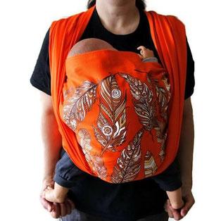 Тъкан слинг Шушулка със средно висока плътност