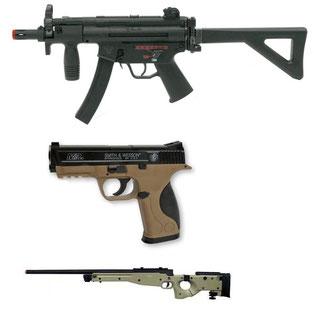 Fucili elettrici - Asg - Pistole a gas - Fucili di precisione sniper