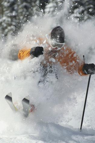 スキーウェアのクリーニング