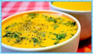 Суп куриный с кабачком