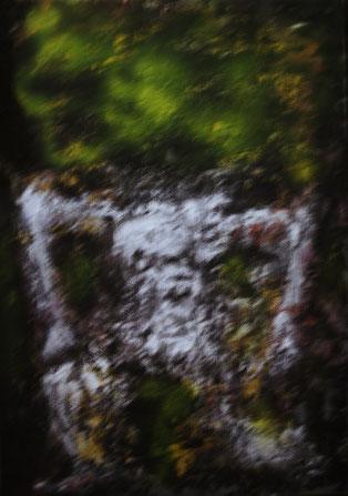 Acryl auf Holz, 70x50, 2014