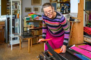 Steinbock Pergament Broschur