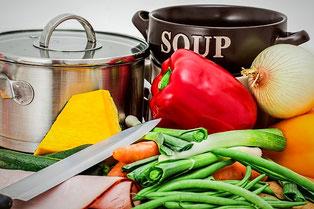 Detox Suppen Rezepte: Zutaten und Zubehör