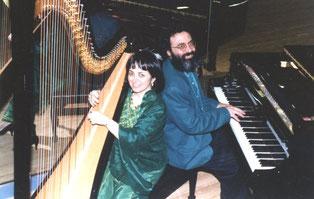 Nehama REUBEN & Shimon REUBEN. DUO REUBEN. harp & piano Concert 1993