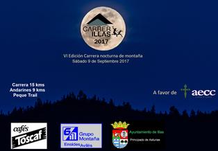 VI CARRERA NOCTURNA DE ILLAS - Callezuela-Illas, 09-09-2017