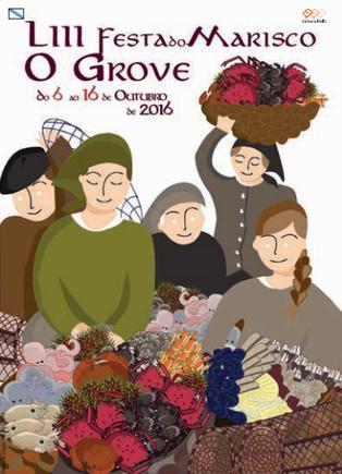 Programa de la Fiesta del Marisco en O Grove