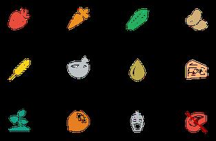 Tableau alimentaire selon les doshas - ayurvéda