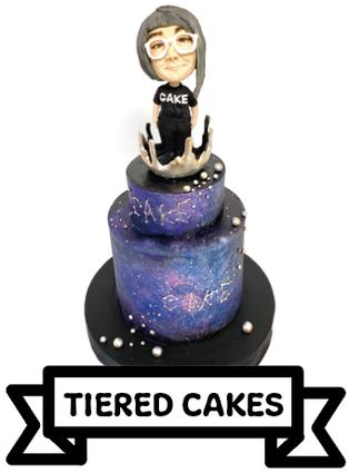 段ケーキのケーキギャラリー