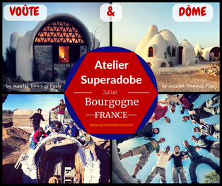 Atelier Superadobe Earthbag France