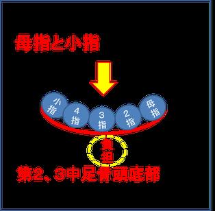 中足骨頭部痛の解消は昭島市のオサモミ整体院。拝島駅から無料送迎サービス。