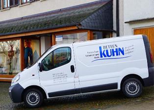 Abholservice Lieferservice Betten Kuhn