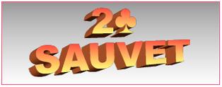 2♣ SAUVET